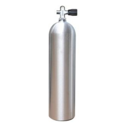 Cylindre 80 Pi Cu en aluminium  Catalina -  Gris aluminium